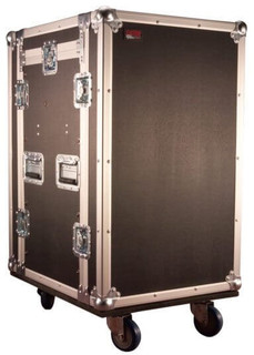 G-TOUR 10X14 PU 10U Top, 14U Side Road Rack Case Combo Rack (G-TOUR 10X14 PU)