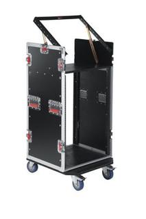 G-TOUR 10X16 PU 10U Top, 16U Side Road Rack Case Flight Box (G-TOUR 10X16 PU)