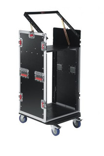 G-TOUR 10X16 PU 10U Top, 16U Side Road Rack Case Flight Box (G-TOUR 10X16 PU)