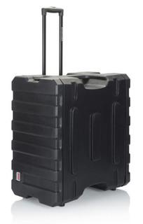 G-PROR-6U-19 Gator Cases 6U, 19″ Deep Molded Audio Rack; w/ wheels (G-PROR-6U-19)