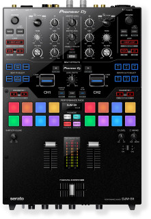 Pioneer DJ DJM-S9 Professional 2-Channel Serato Battle Mixer For Serato DJMS9 (DJMS9)