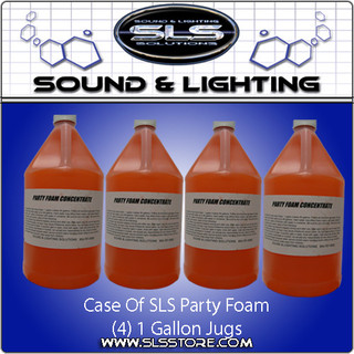 Sound & Lighting Solutions Party Foam Concentrate Case