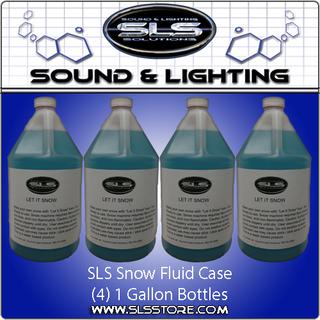 Sound & Lighting Solutions Snow Fluid Case (SJU)
