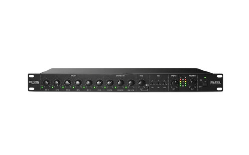 Denon Professional DN-312X   12-Channel Line Mixer with Priority
