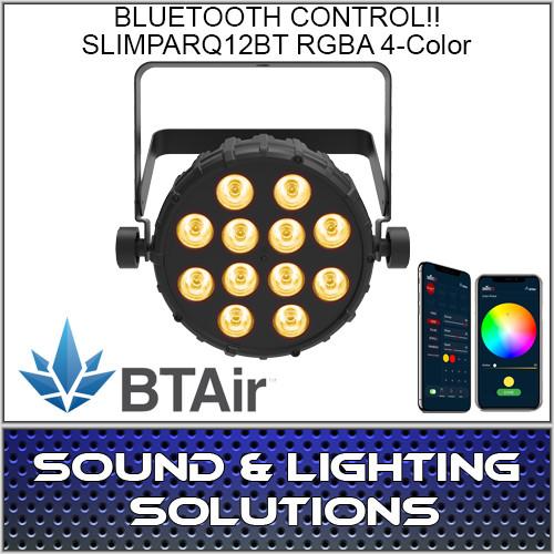 Chauvet DJ SlimPAR Q12 BT Wash Light (RGBA) with built-in Bluetooth BTAir