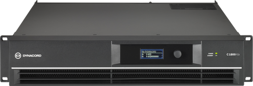Dynacord C1800FDi-US DSP 2 x 950 W Power Amplifier for fixed install applications