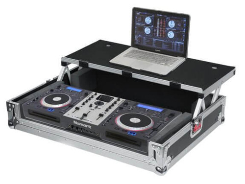G-TOURDSPUNICNTLB Medium DJ Controller Road Case