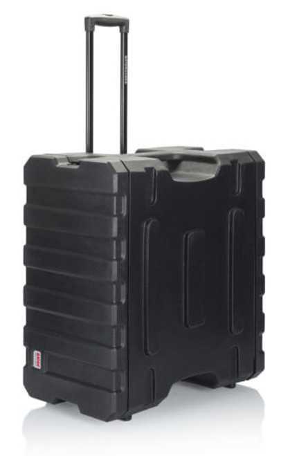 G-PROR-6U-19 Gator Cases 6U, 19″ Deep Molded Audio Rack; w/ wheels (G-PROR-6U-19)