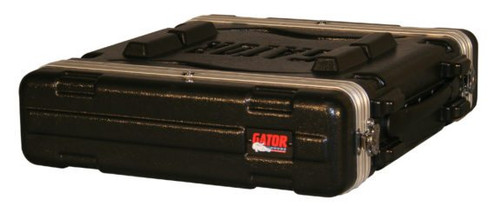 GR-2L Gator Cases 2U Audio Rack Standard Molded GR2L (GR-2L)