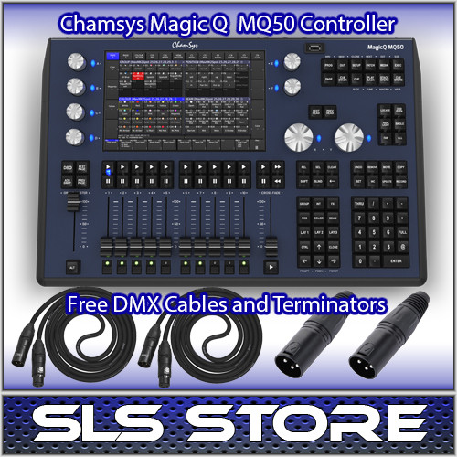 ChamSys MagicQ MQ50 Compact Lighting Console
