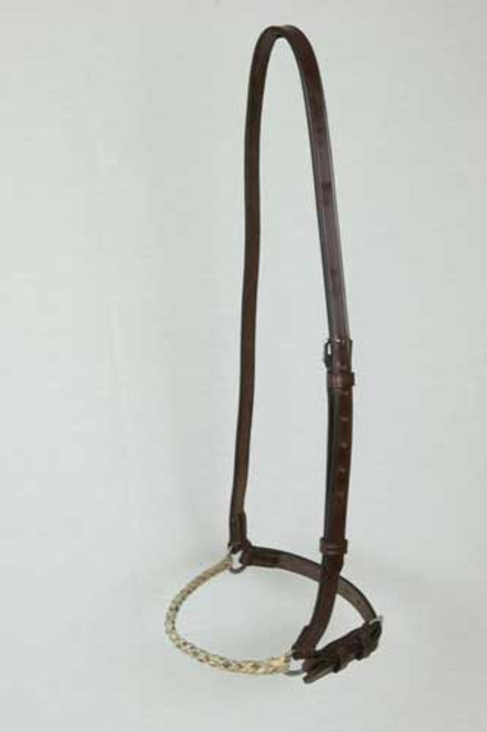 63d3abf3d44 Argentine Style Rawhide Drop Noseband
