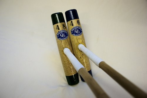 "Pony Club Mallet 42"" to 49"" with  Painted Tips"