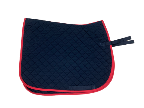 """Conti Saddle pad  quilted 17"""" (limited quantities of each colour)"""