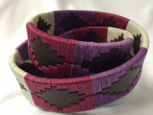 Argentine Belt (Purple/Red)