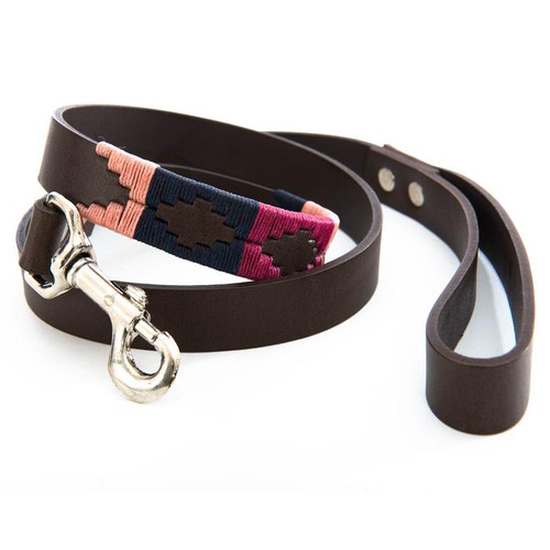 Navy/Pink/Berry Dog Lead