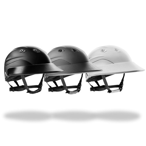 Armis standard Polo Helmet in Black, White or Graphite/Ghost Grey