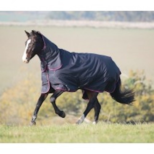 Suitable for cool nights and days when a heavier weight rug is too warm, or for hardy horses in colder weather. The integrated neck is secured with double layer touch close fastenings. Key features: ShireTex 600 denier ripstop, waterproof and breathable outer with taped seams, 200g polyfill, blanket set chest fastenings, adjustable cross surcingles, adjustable fillet strap, tail flap Durable, dependable, excellent value! Tempest Original rugs offer exceptional value for those wanting a good, dependable turnout rug.