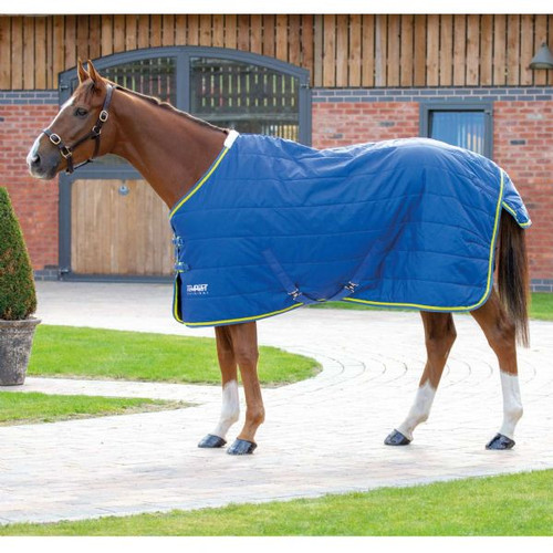 Great for early spring and autumn weather, also perfect as an extra layer when the weather is really cold. B breathable polyester 210 denier outer and a 100g quilted fill keep the horse warm and comfortable. Key features: 210 denier outer, 100g quilted polyfill, blanket set chest fastenings, adjustable cross surcingles, fillet string, tail flap Durable, dependable, excellent value! Tempest Original rugs offer exceptional value for those wanting a good, dependable turnout rug.
