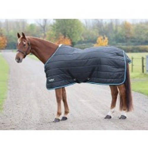 When temperatures start dropping this 200g stable rug is ideal. The polyester 210 denier outer resists stable scuffs and is breathable for comfort. Key features: 210 denier outer, 200g quilted polyfill, blanket set chest fastenings, adjustable cross surcingles, fillet string, tail flap. Durable, dependable, excellent value! Tempest Original rugs offer exceptional value for those wanting a good, dependable turnout rug.
