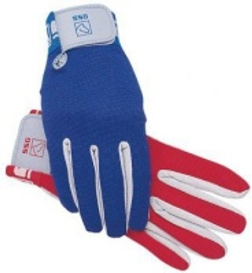 SSG Polo Glove Aqua suede material