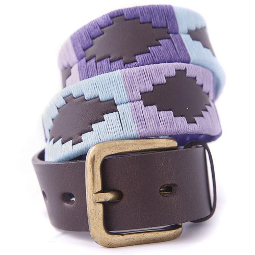 Argentine Belt (Pale blue/purple/violet)