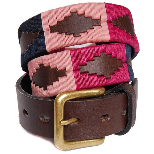 Argentine Belt (Berry/Navy/Pink)