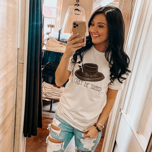 Can't Be Tamed Tee - Oatmeal