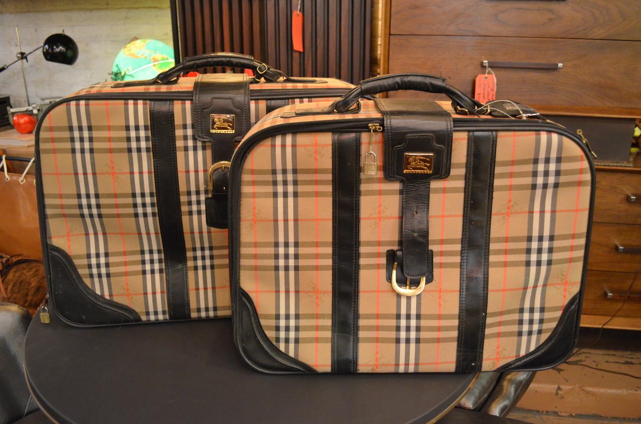 123561df4cdb Vintage Burberry Luggage - Vintage Grind House