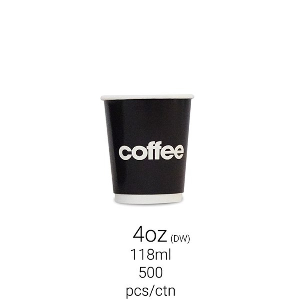 Hot Drink Cup 4oz - Double Wall