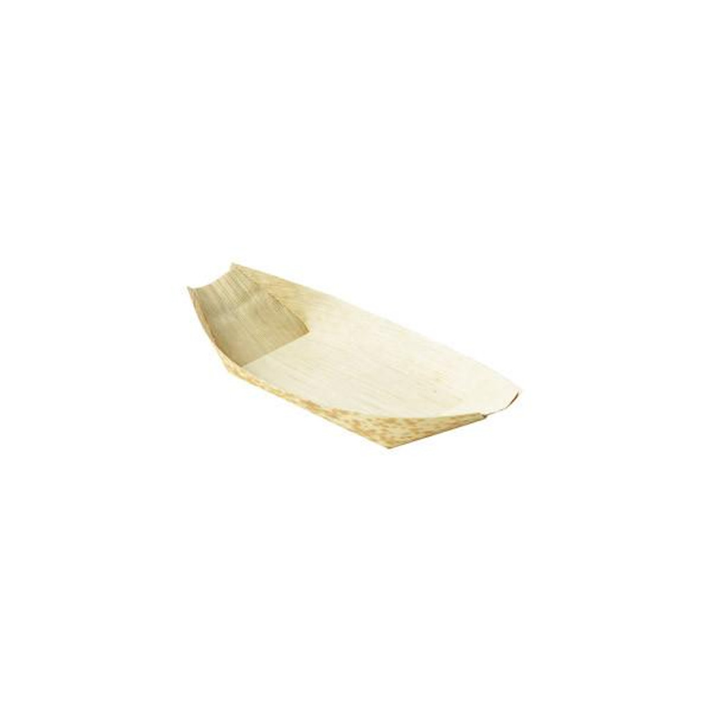 "Bamboo Sheath Boat Disposable 8.5""- 9 oz"
