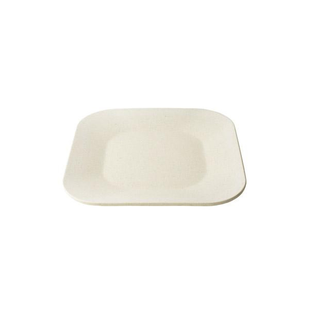 Malibu Plate Square Reusable 8.5""