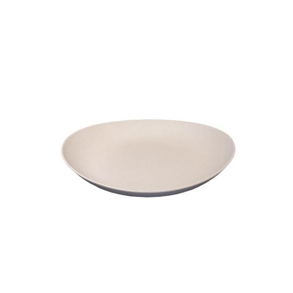 Bambooware Double Wall Deep Plate Reusable 9""