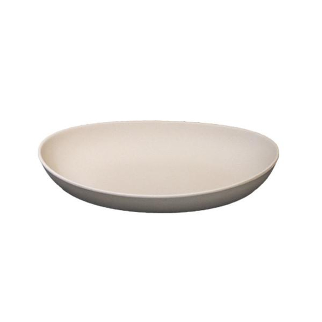 Bambooware Double Wall Deep Plate Reusable 10.5""