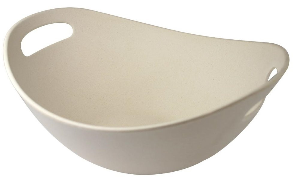 "Bambooware Double Wall Bowl Reusable 11""- 68 oz"