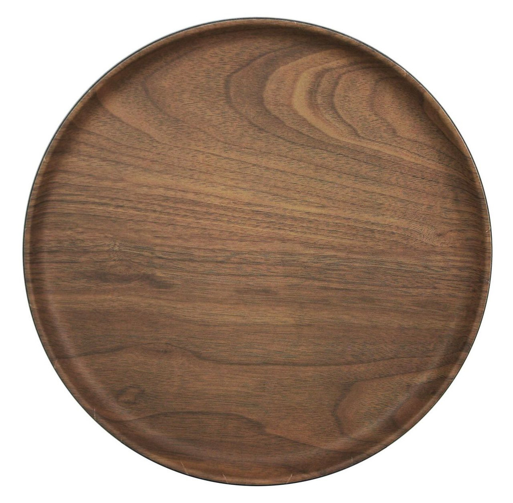 Lava Bamboo Plate Round Reusable 8""