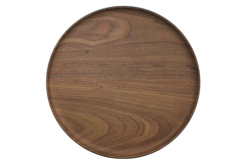 Lava Bamboo Plate Round Reusable 11""
