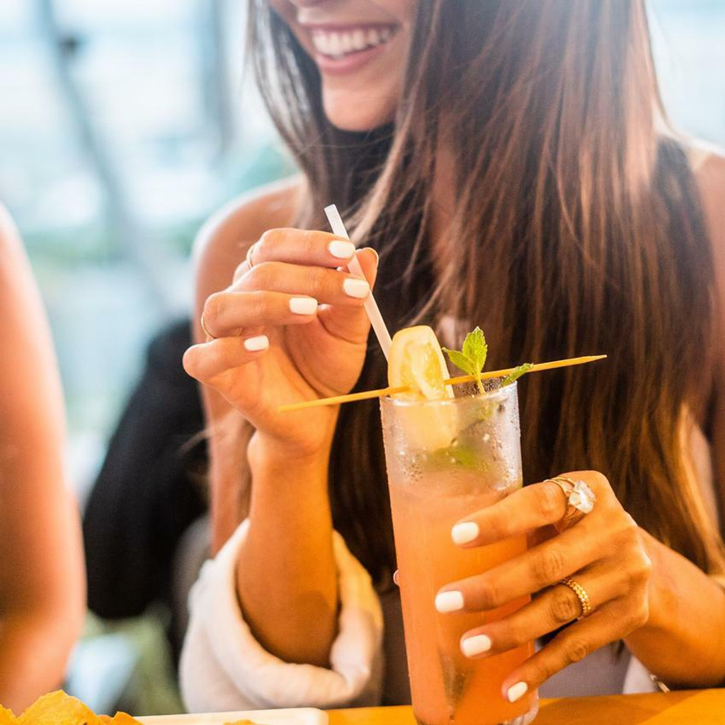 AirCarbon Straws by Restore Foodware - Natural