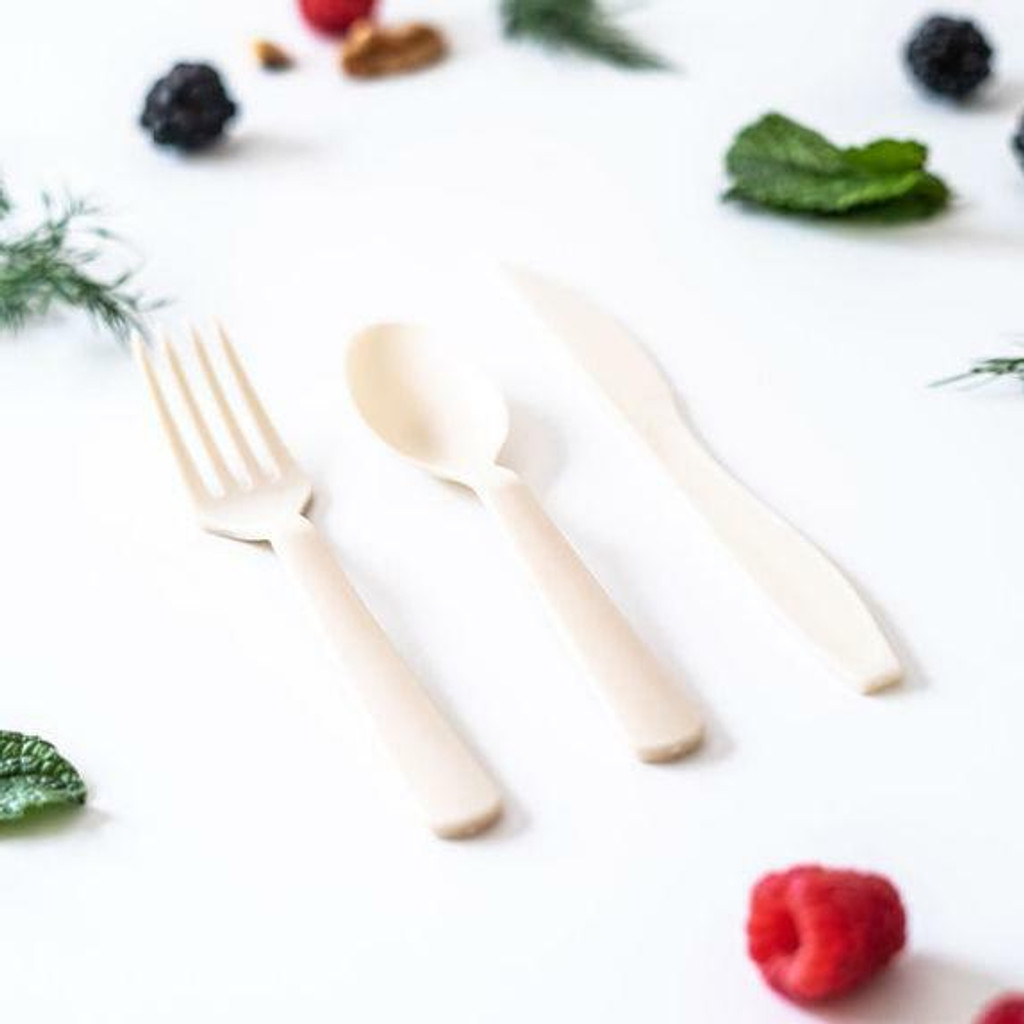 AirCarbon Premium Cutlery by Restore Foodware - Natural