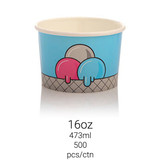 Ice Cream Cup 16oz