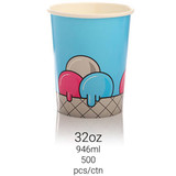 Ice Cream Cup 32oz