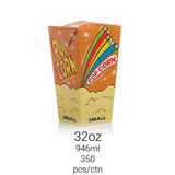 Popcorn Square Box 32oz