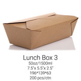 Lunch Box Lrg. LB3 - 50oz/1500ml