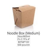 Noodle Box Medium - 26oz/800ml