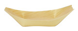 "Pinewood Appetizer Boat Disposable 4.5"" x 2.6"""