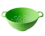 "Bambooware Colander Green Reusable 11.6""- 80 oz"