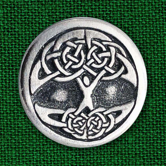Celtic Tree of Life Pewter Pin