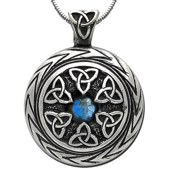 Limited Edition! Triquetra Pendant with Labradorite – Celtic Traditions