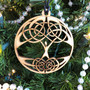 Set of 4 Celtic Traditions Ornaments