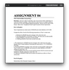 A04 Intermediate Accounting I Assignment 4 (Ashworth College)
