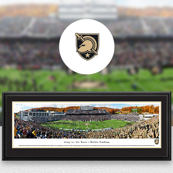 Army Black Knights Panoramic Posters and Fan Cave Decor